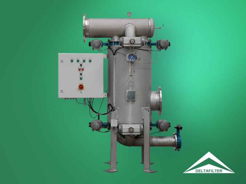 Automatic Backflush-Filters • DELTAFILTER Filtrationssysteme